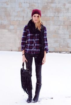 Fashions of Flannel.