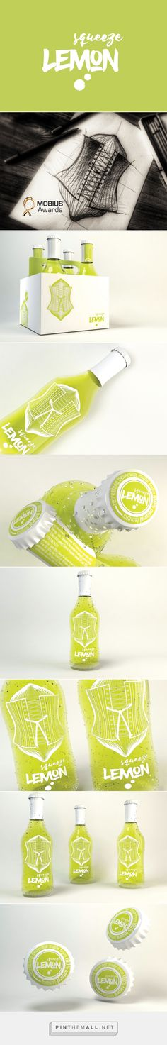 Squeeze Lemon (Concept) - Packaging of the World - Creative Package Design Gallery - http://www.packagingoftheworld.com/2017/01/squeeze-lemon.html