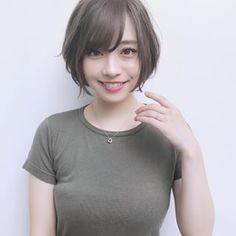 Tips For Changing Your Hairstyle – Hair Wonders Asian Short Hair, Girl Short Hair, Short Hair Cuts, Short Hair Styles, Pretty Short Hair, Prity Girl, Cute Japanese Girl, Platinum Blonde Hair, Girl Hairstyles