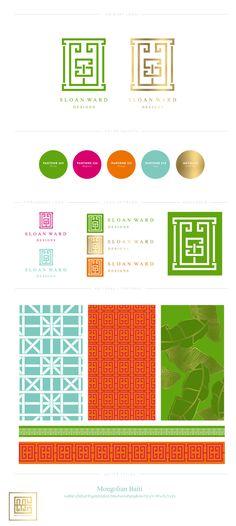 Emily McCarthy Branding | Sloan Ward Designs Branding Board | www.emilymccarthy.com #branding