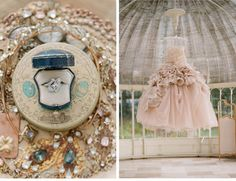 Our Muse - Old World Inspired Wedding - Be inspired by Corbin and Thatcher's romantic, vintage-influenced destination wedding in Ireland - w...