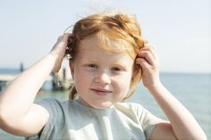 Summer sun and freckels - Soft and organic summer with Serendipity Organics.