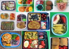 Creative school lunches - For more creative ideas for kids lunches LIKE US on Facebook @ https://www.facebook.com/SchoolLunchIdeas