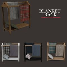 Leo Sims - Blancket rack for The Sims 4