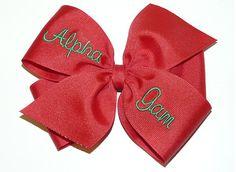 Alpha Gamma Delta Bow