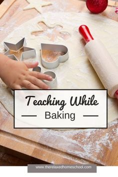 Combine science & math with your holiday baking! #homeschool