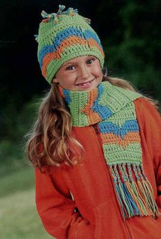 """One of the many crochet patterns from the """"Gifts from the Heart Collection"""""""