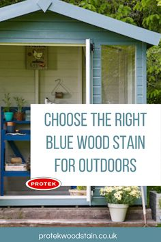 Every blue wood stain and paint you will need for outdoor and exterior wood projects. Could be tables, benches, fences, furniture and decks plus loads more in dark and light blue colours. Blue Wood Stain, Wood Stain Colors, Fence Paint Colours, Concrete Posts, Light In The Dark, Light Blue, Outside Living, Garden Fencing, Weathered Wood