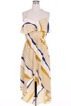 Kiki La'Rue - Derby Dress - Mustard, $52.00 (http://www.kikilarue.com/derby-dress-mustard/)