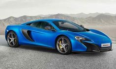 2015 McLaren 650S Spider: 3.8 Liter V8 Twin Turbo with 641 Horsepower. 0 to 60 mph in 2.9 seconds. Top Speed of 207 mph.