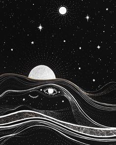 late night thoughts, lying on my bed gazing at the stars through my windo Dark Wallpaper, Wallpaper Backgrounds, Moon Art, Aesthetic Art, Aesthetic Galaxy, Psychedelic Art, Cute Wallpapers, Aesthetic Wallpapers, Dark Art