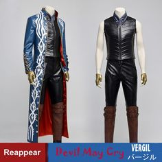 Vergil Cosplay Outfit Costume