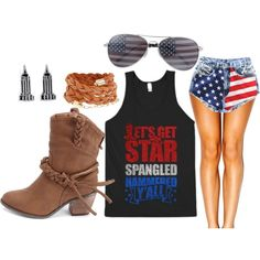 Independent's Day Outfit