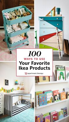 The biggest benefit to buying IKEA isn't to your wallet, it's to your creativity. The fact that IKEA stocks so many affordable lines means that you can feel free to hack, adapt and remix the different pieces to suit your needs. Discover new ways to use and decorate your favorite IKEA finds.