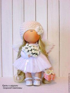 Купить или заказать АНГЕЛ! в интернет-магазине на Ярмарке Мастеров. Ангел,ручной работы. Рост куколки 30 -32 см. Куколка станет чудесным другом,подарком!!! Украсит ваш интерьер!!!!