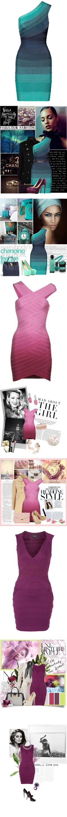 """""""Get on the Bandage Wagon"""" by polyvore-editorial ❤ liked on Polyvore"""