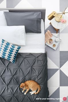 Now's the time to upgrade your bedding. Add luxe duvets, plush pillows and soft… Girls Bedroom, Master Bedroom, Bedrooms, Modern Southwest Decor, Simple House Design, Creative Decor, Home Decor Bedroom, Cat Naps, Apartment Living