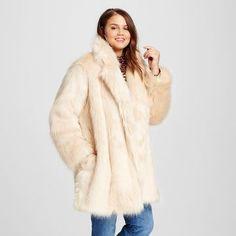 Women's Plus Size Fur Jacket - Who What Wear ™