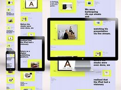 Swipe - Responsive Relaunch 2013 by Krunchtime , via Behance