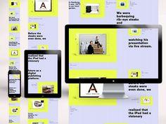 Swipe - Responsive  #responsive #grid #mobile #web