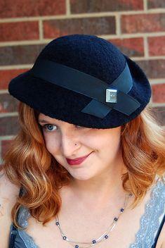 cdadff3e390 Evelyn Tilt Hat pattern by Jennifer Tallapaneni