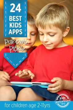 What are your favorite kid apps?  24 best apps for kids chosen by parents!