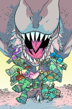 TMNT Turtles In Time #1 - Ross Campbell