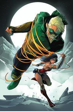 Green Arrow vs Wonder Woman