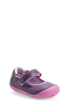 Stride+Rite+'Savanah'+Mary+Jane+(Baby+&+Walker)+available+at+#Nordstrom