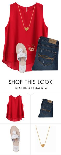 """Please follow @cute-and-cheap!"" by ponyboysgirlfriend ❤ liked on Polyvore featuring Abercrombie & Fitch, Jack Rogers, Minnie Grace, women's clothing, women's fashion, women, female, woman, misses and juniors"