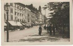 Carl Johans gate 1910-tallet Abels kunstforlag