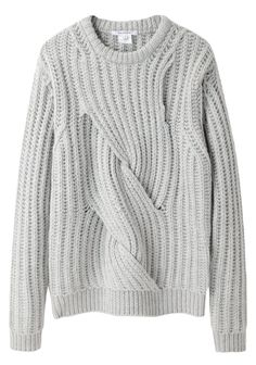 Carven / Twisted Knit | La Gar�onne | La Garconne