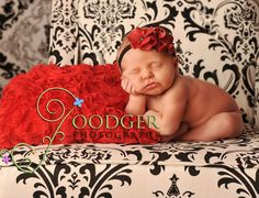 Red Holiday Wrap  stretchy ruffle blanket  by ImaginationCouture, $24.00 Props / Blankets for Baby