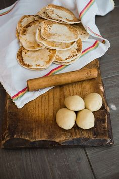 Gorditas de harina - similar to flour tortillas