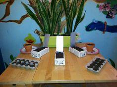 Planten poot tafel