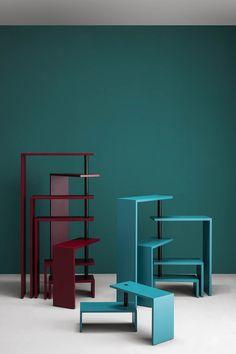 Libreria girevole autoportante JOY by Zanotta design Achille Castiglioni