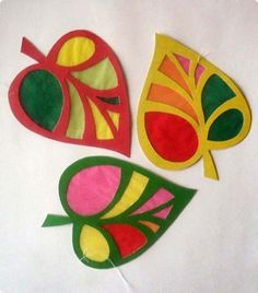 Leaf crafts ~ several Nature Crafts, Fall Crafts, Diy And Crafts, Arts And Crafts, Leaf Crafts Kids, Christmas Crafts For Kids, Autumn Activities, Craft Activities, Preschool Crafts