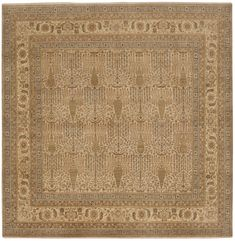 Hand Knotted Indian Rug - x Hand Knotted Rugs, Woven Rug, Affordable Rugs, Square Rugs, Classic Rugs, Indian Rugs, Traditional Rugs, Rugs Online, Persian Rug