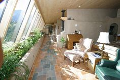 Passive Solar Tire House 2 by theentiremikey, via Flickr