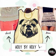 ¡Esta remera de Holy By Holy Indumentaria es un golazo para esta temporada! ¿La usarías con un short de color o una mini canchera?