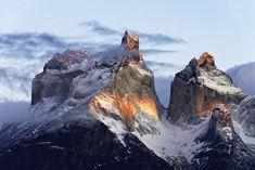 Patagonia, that magic light by Carlos Guevara Vivanco