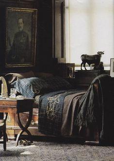 Master Bedroom ~ Ralph Lauren
