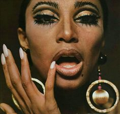 Charlotte March, jewelry editorial with Donyale Luna for Twen magazine, 1966. AD: Willy Fleckhaus, Germany. My twen collection. Donyale Luna was the first African American model on the cover of Vogue,...