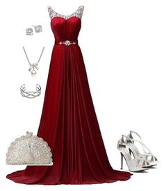 """""""special evening"""" by molly2222 ❤ liked on Polyvore featuring Touch Ups, MBLife.com and Crislu"""