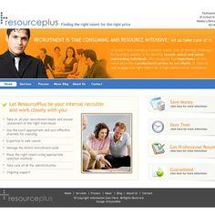 Website for new recruitment company