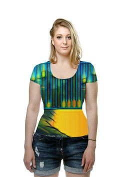 By Diana Sharpton. All Over Printed Art Fashion T-Shirt by OArtTee