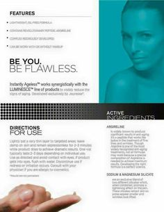 Instantly Ageless Directions