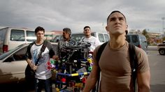 In SPARE PARTS (2015) Four Hispanic high school students form a robotics club. With no experience, 800 bucks, used car parts and a dream.