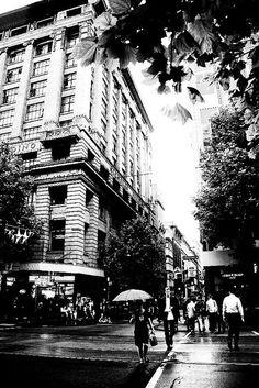 Walk the city streets. #Melbourne, #Australia