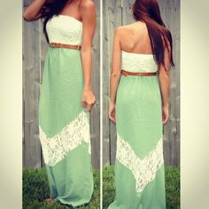 Lace Me Up Maxi from Monica's Closet Essentials